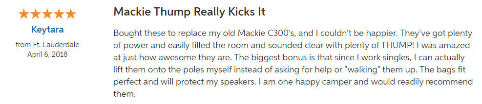 Mackie Thump 12 Review 2