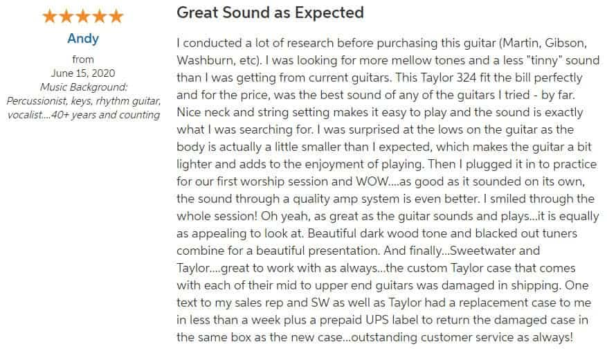 Taylor 324ce Review 1