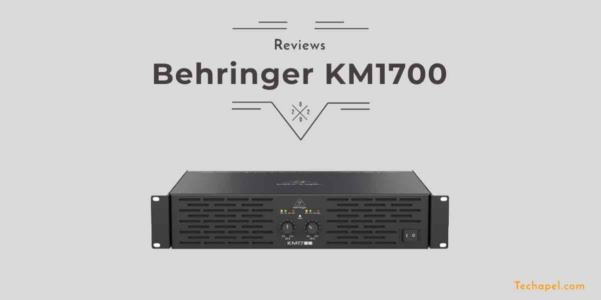 Behringer KM1700 Review