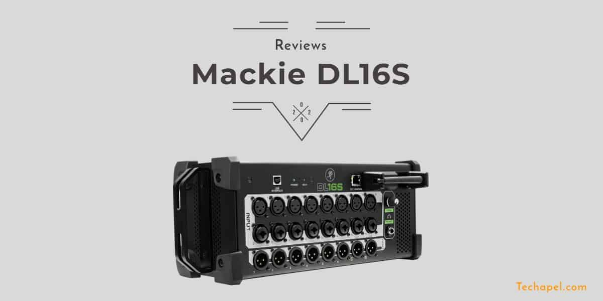 Mackie DL16S Review